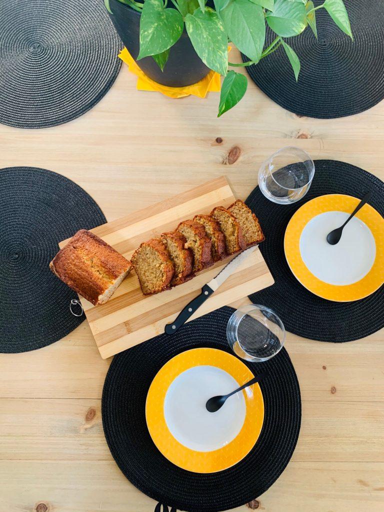 Banana Bread tranché